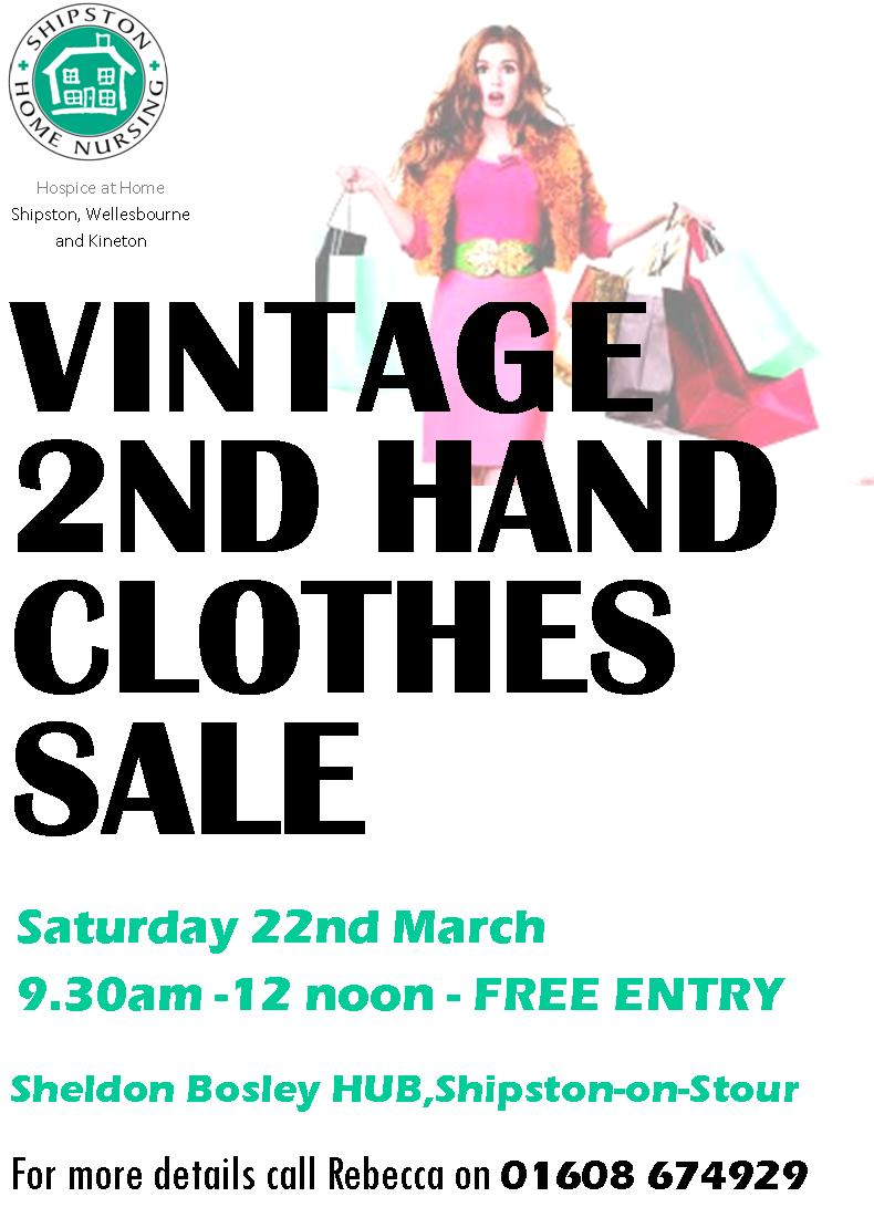 Vintage 2nd Hand Clothes Sale