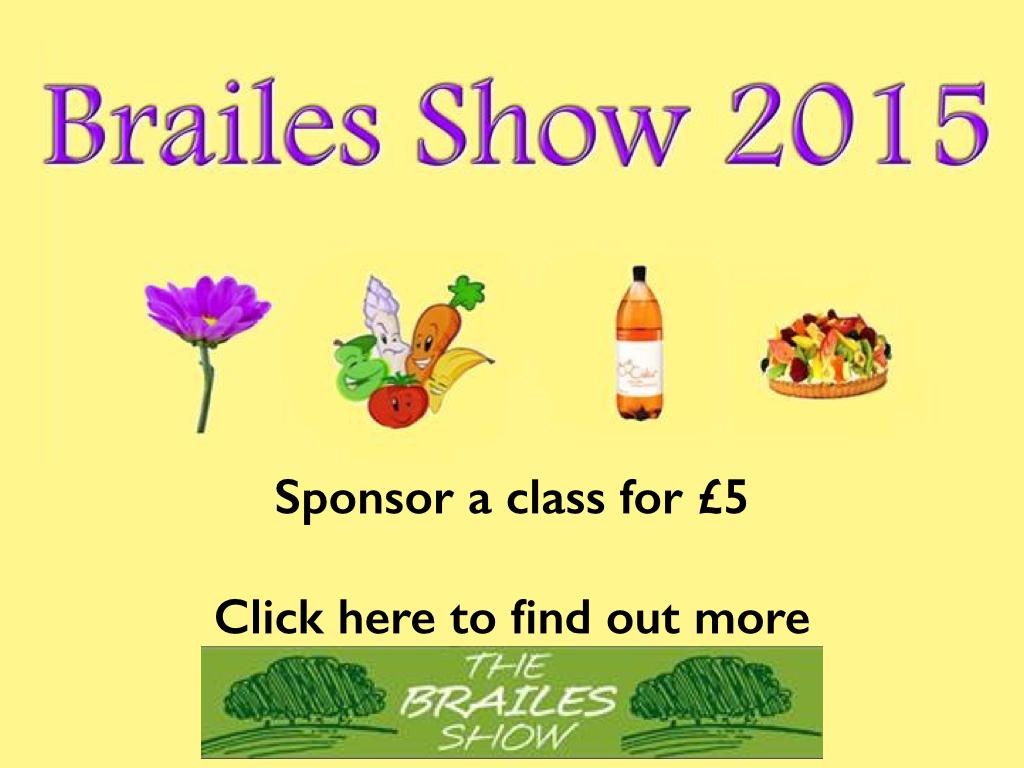 Brailes Show Sponsor